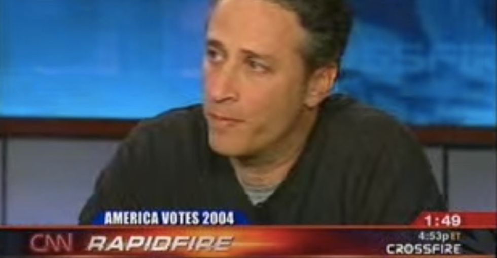 10 Years Ago, Jon Stewart Went On An Epic Rant On CNN. It Never Gets Old.