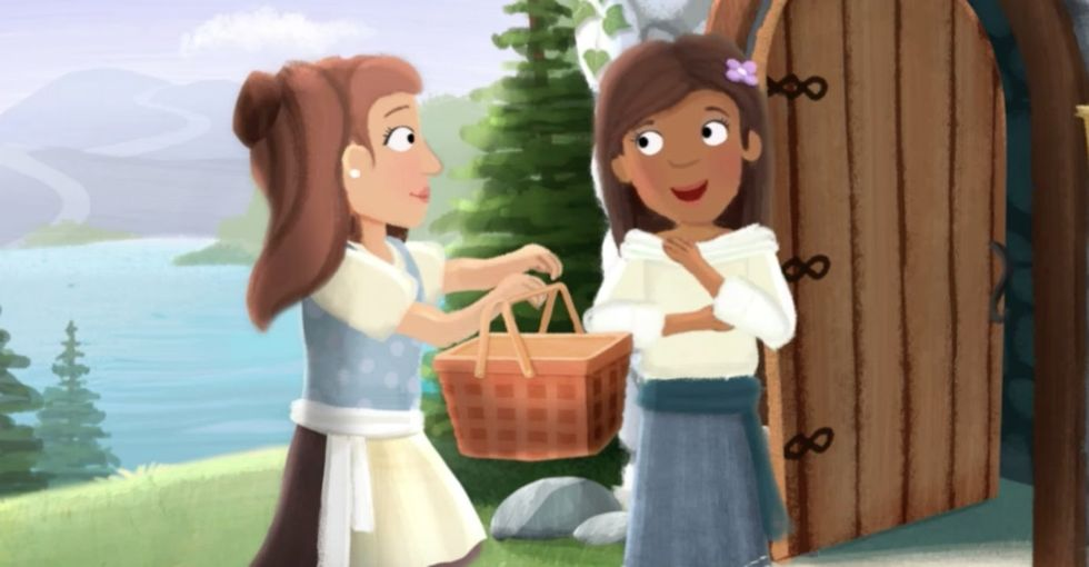 A new fairytale has a lesbian heroine. It's equal parts cute and important.
