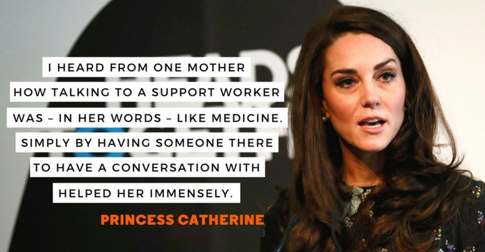 The royal family: Mental health is just as important as physical health.