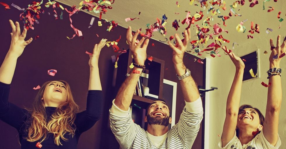 Sick Of New Year's Just Being About Sparkles And Confetti? Here's A Story Worth Listening To.