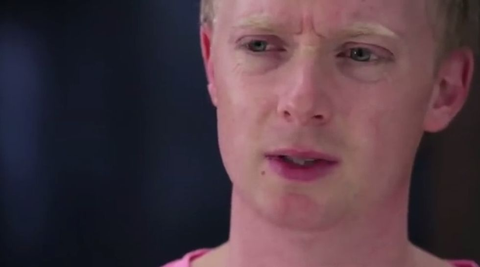 WATCH: An Alternate-Universe Audition Gets A Little TOO Real For This White Guy