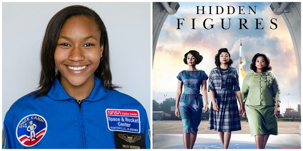 She was raising $2,600 so 100 girls could see 'Hidden Figures.' She just cleared $13,000.