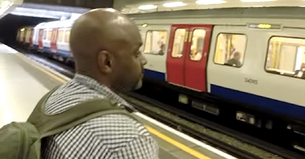 This Guy Is Going To Make A Point About The London Subway System That Will Make You Think