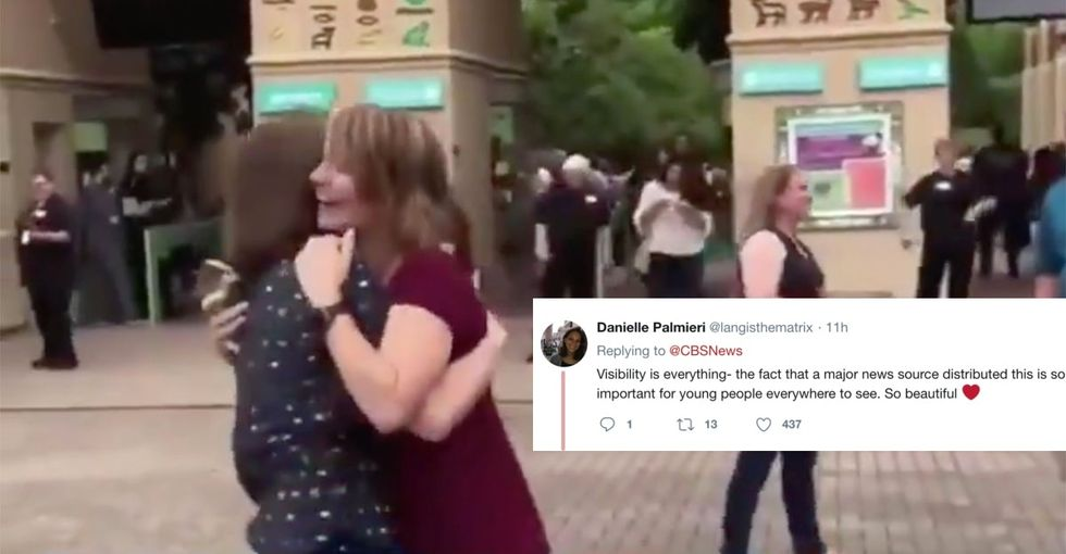 The world is grinning from ear to ear over this hilarious queer double proposal.