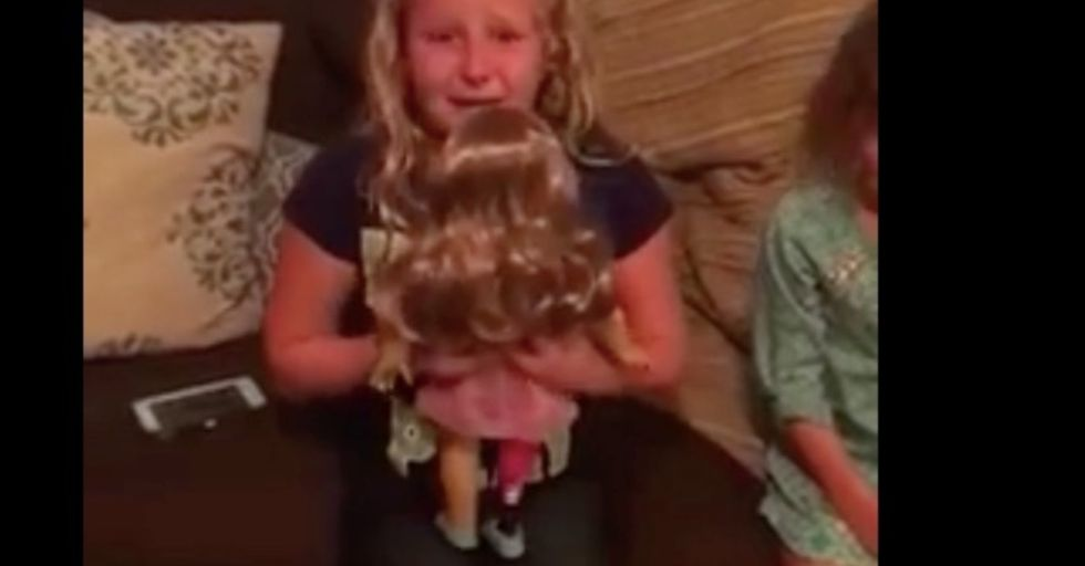 How a doll with a prosthetic leg is helping one young girl.