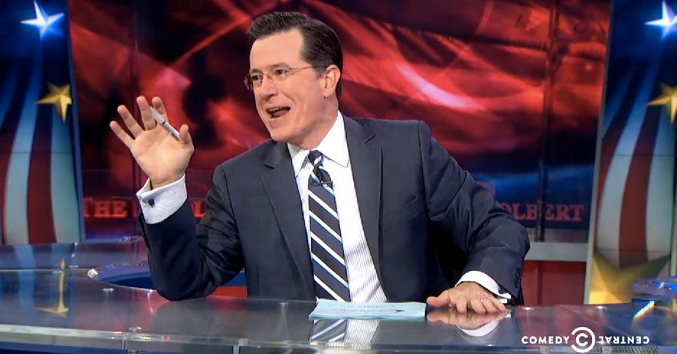 Colbert Finds Out The Exact Moment A Texas Politician Revealed That He Has Foot-In-Mouth Disease