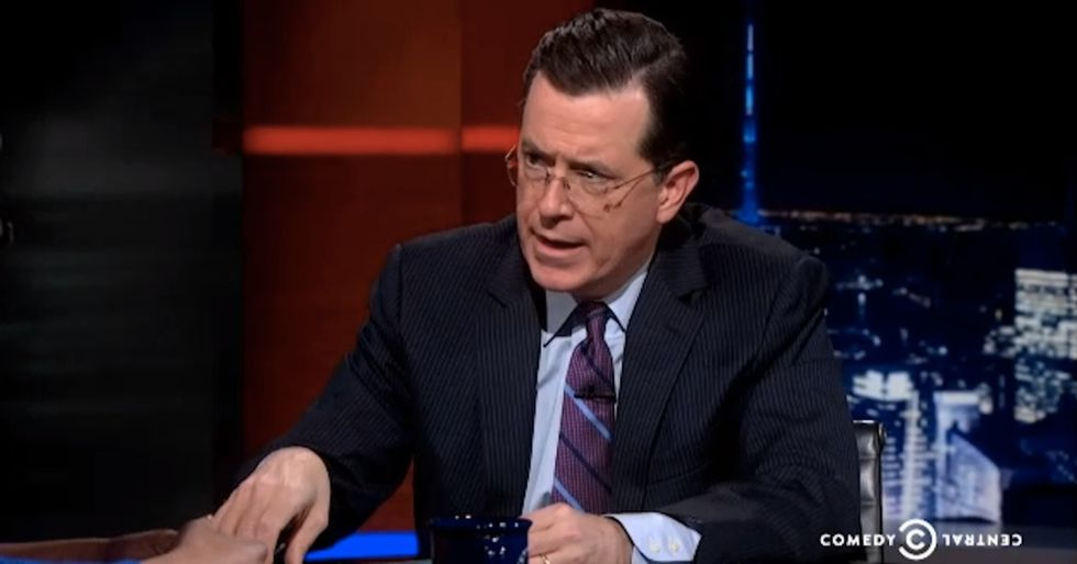 So Full Of #Win — A Brilliant Young Lady Talks To Stephen Colbert About #FastFoodStrikes