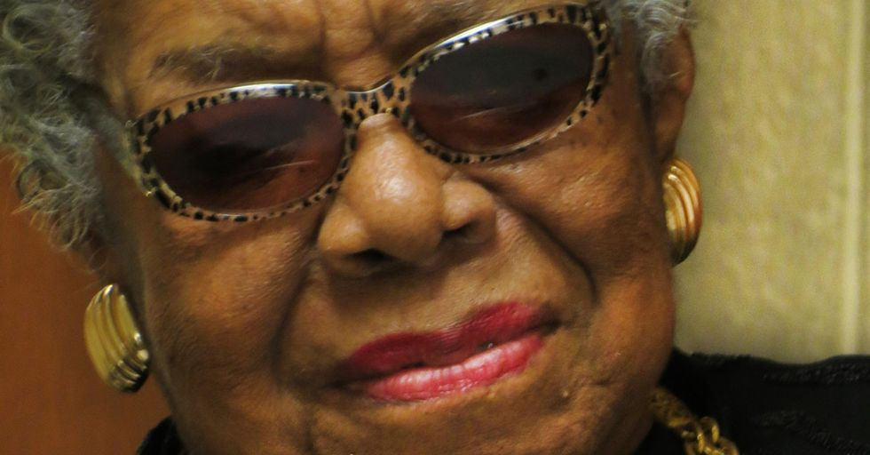 The U.S. Dept. Of State Asked Maya Angelou To Speak About Him. What She Said Is Unforgettable.
