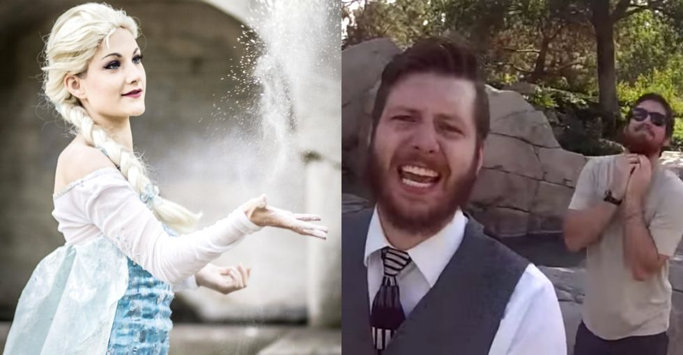 A Hilarious, Over-The-Top 'Frozen' Parody By 2 Guys Who Have 1 Big, Awesome Reason
