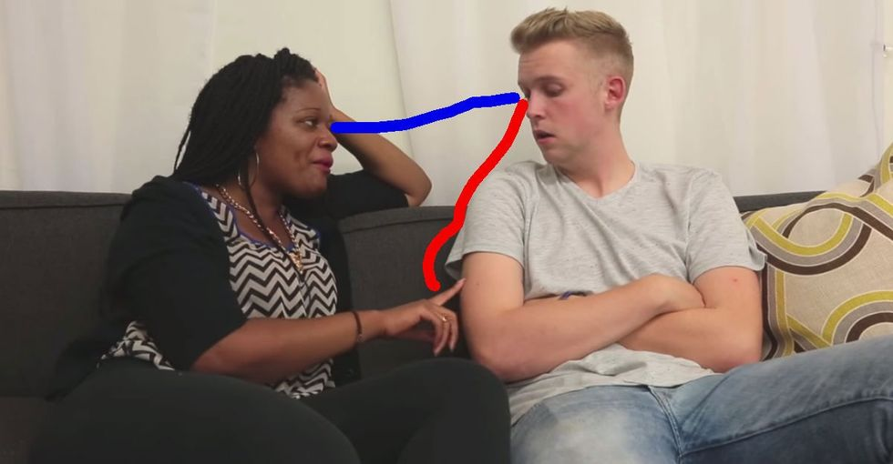 Questions to steer clear of when you date someone of another race.