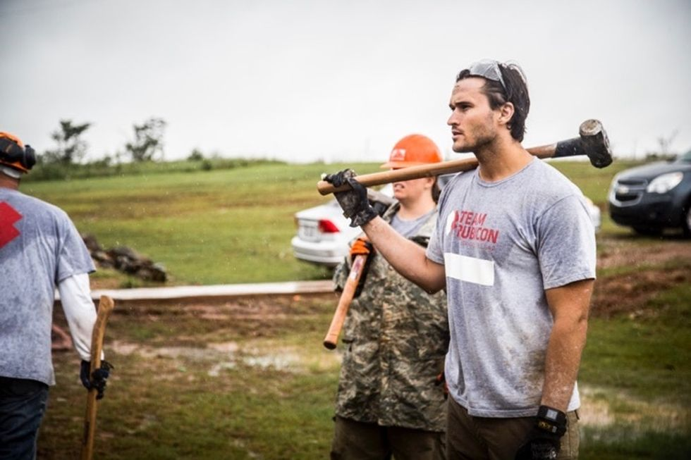The brilliant way that one man is helping fellow veterans continue to serve others.