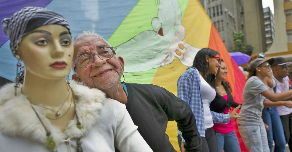 Older, out, and infinitely proud: a look inside a lifesaving LGBTQ senior home.