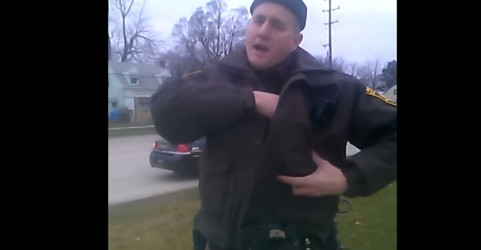 A Cop Stops A Black Man For Walking With His Hands In His Pockets. Reasonableness Happens Next.