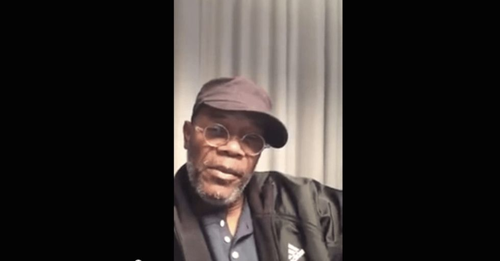 When a celebrity like Samuel L. Jackson puts this out there, you know it's going to go big.