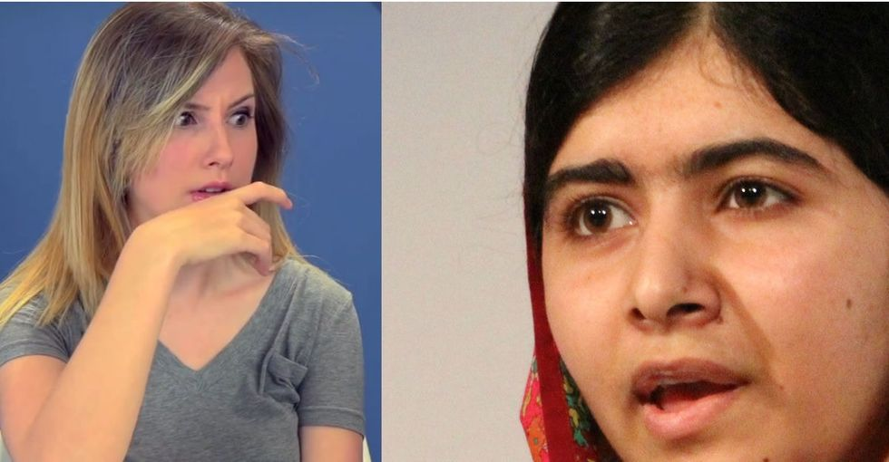 Watch What Happens When American Teens React To The Bravest Teen In The World: Malala