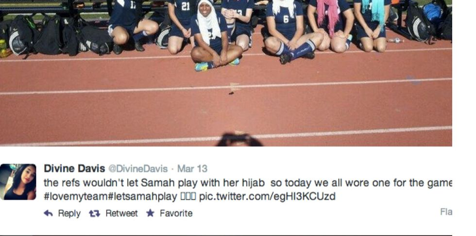 A Girl Was Kicked Off A Soccer Field For Her Hijab. So Her Team Scored One Against Intolerance.