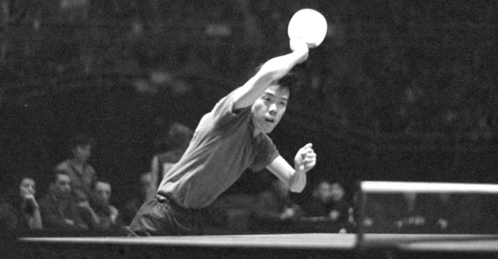 How a ping-pong game helped end the Cold War.