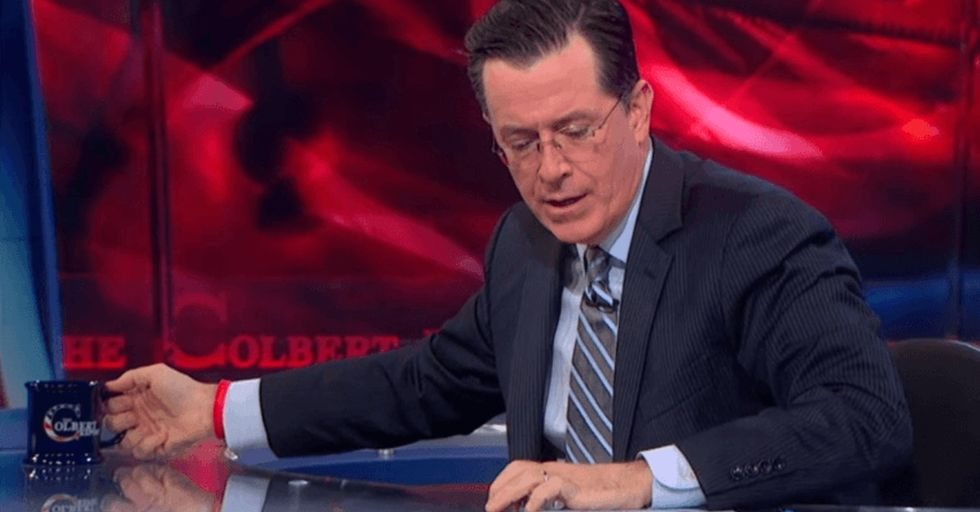 7 times Stephen Colbert didn't just push the envelope — he crushed it.