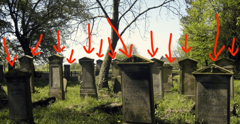The *kinda* scary thing about graveyards you probably never considered.