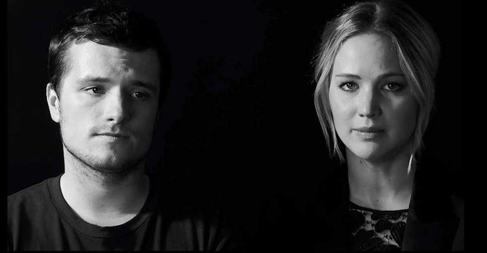 He Asks Jennifer Lawrence What Would Happen If She Got Ebola. She Answers In 3 Words.