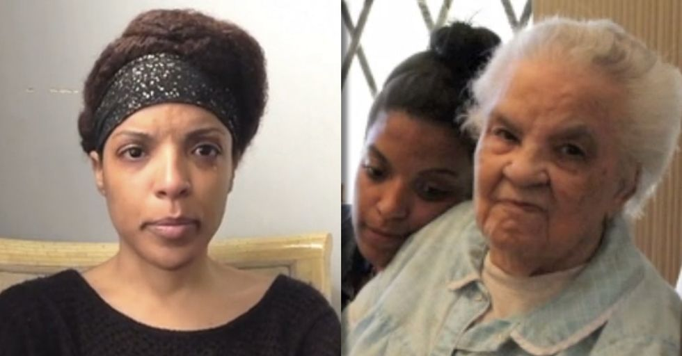 When A Family Of 8 Kids Turns On Their Mother For Money, See What Her Granddaughter Does