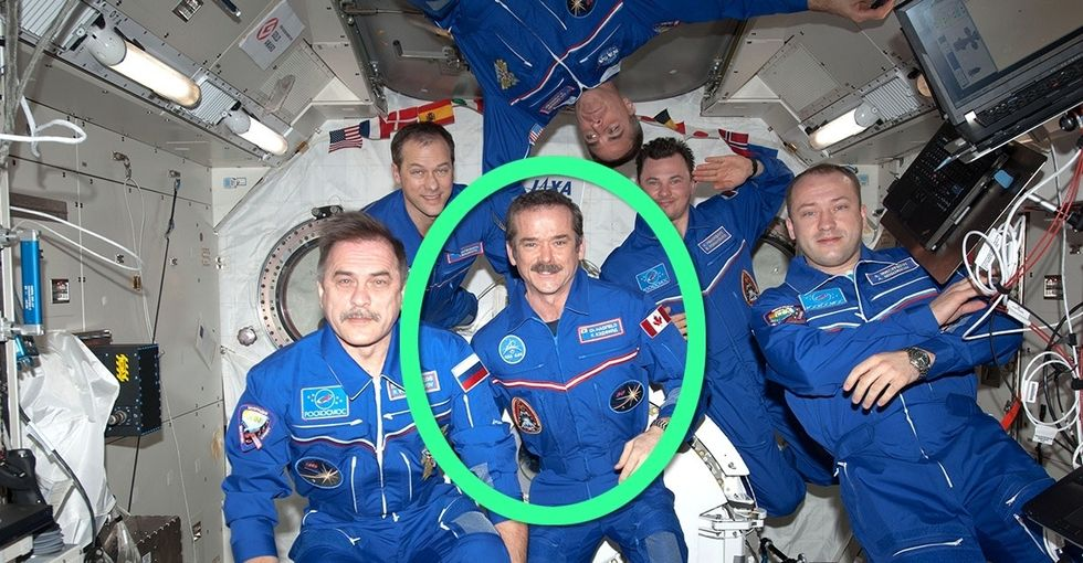 After 3 trips to space, he's realized something no one says.