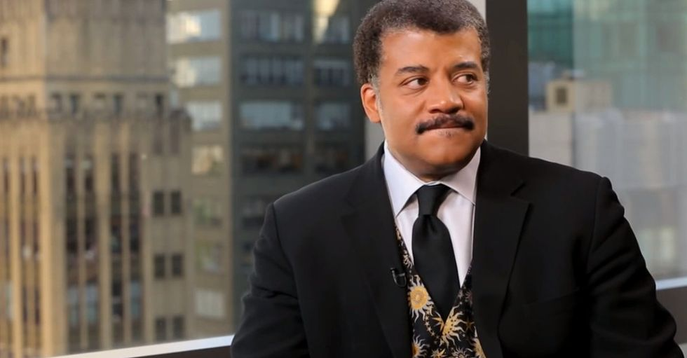 Neil deGrasse Tyson said what he thinks about race now that he's made it, and almost nobody noticed.