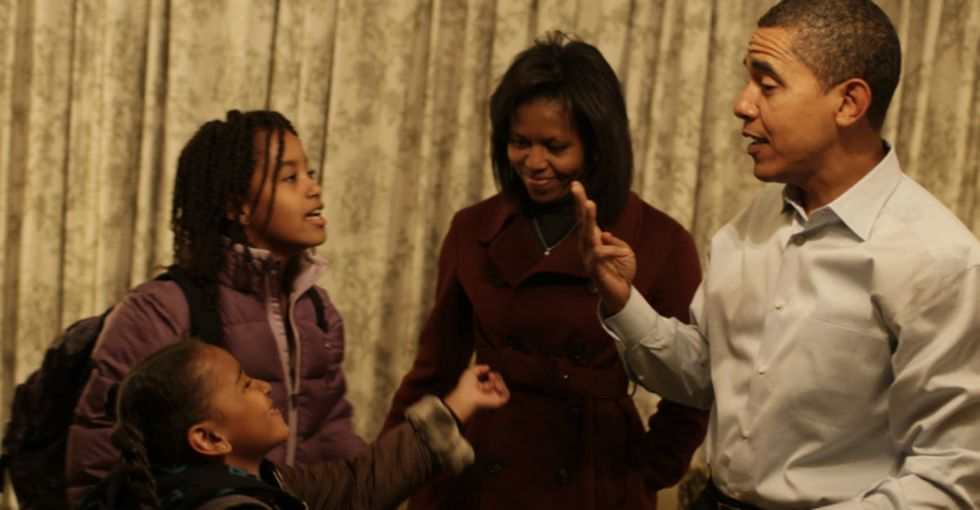 Obama Separated Boy Toys From Girl Toys. He's Got A Wonderful Way Of Doing It.