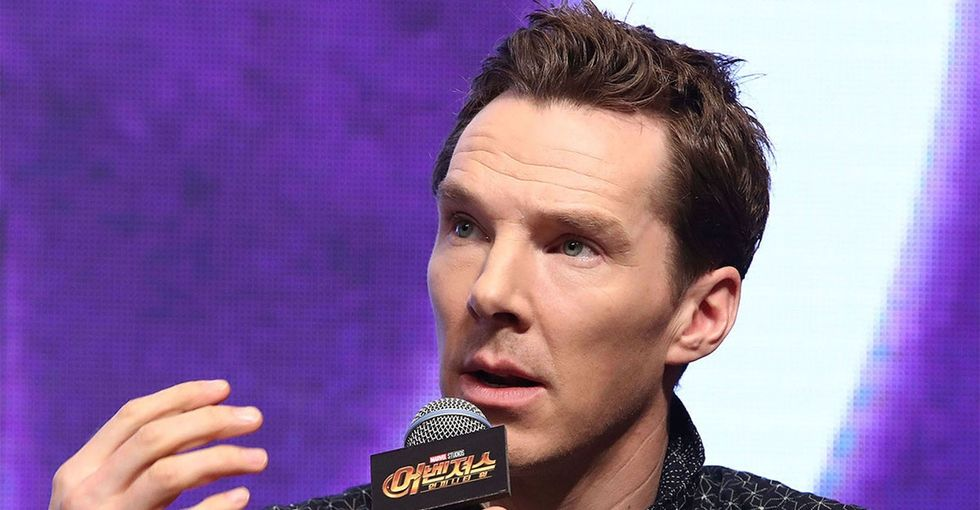 Benedict Cumberbatch has one simple way men can help fix pay inequity.