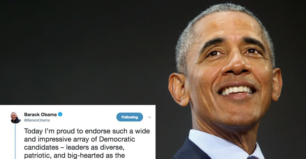 Obama just made a big endorsement that could help make history this November.