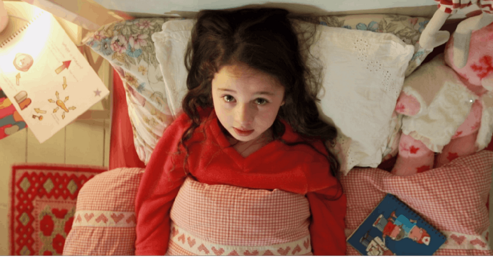A Kid Wonders Why She Has A Disease — Until Her Answer Appears Out Of Thin Air