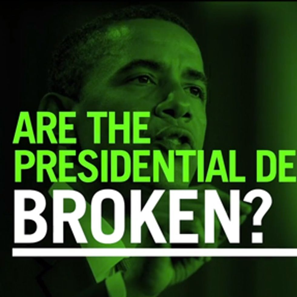 Are The Presidential Debates Broken?