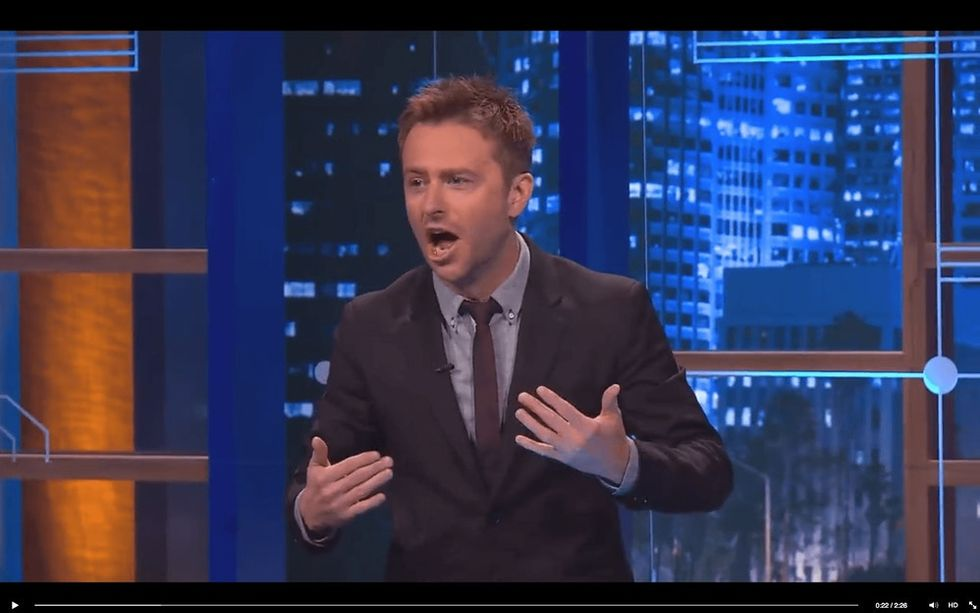 Watch A Comedian Interrupt His Own Show To Point Out A Double Standard Of TV Censors