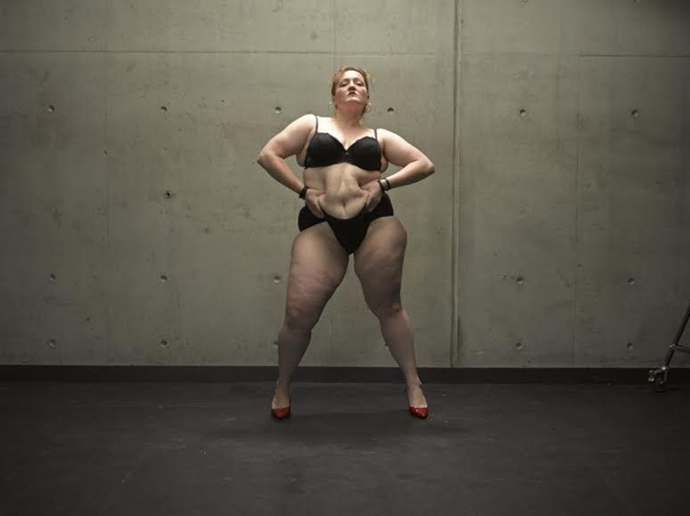People with fat bodies went on stage because they wanted to see how people would respond.
