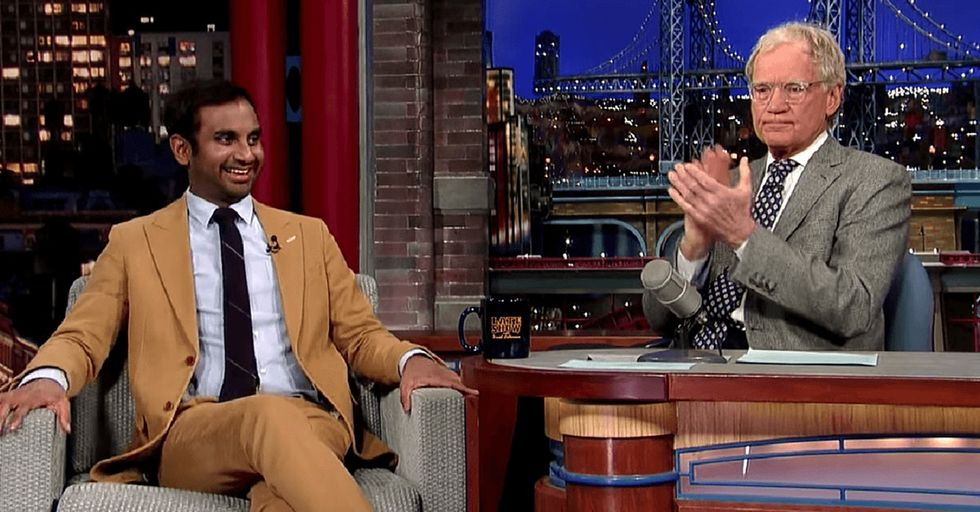 This comedian makes such a great point about racism that David Letterman applauds him on camera.