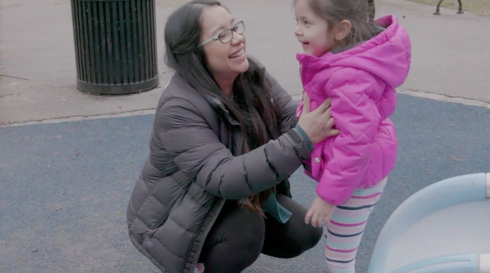 This woman's story shows how one organ donor could change the lives of a whole family.