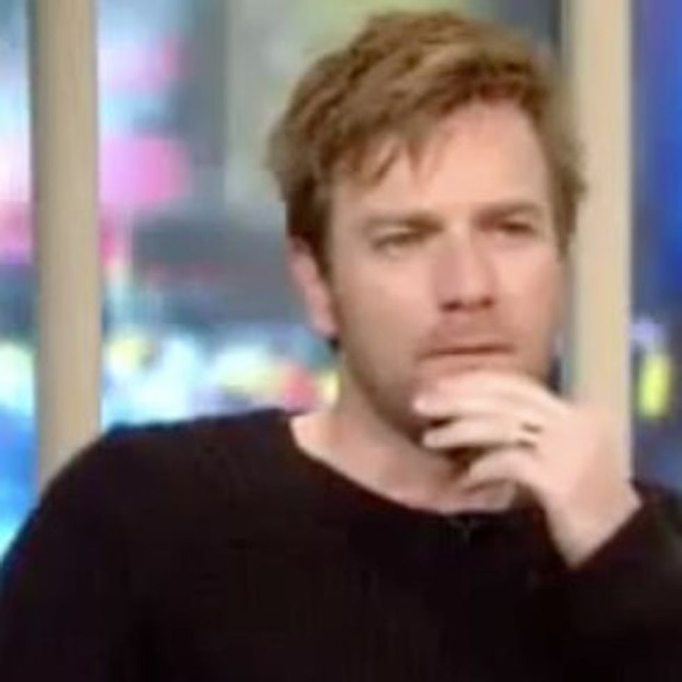 WATCH: Ewan McGregor's Perfect Response To A Casually Homophobic Question