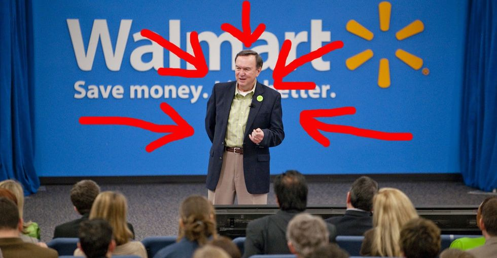 What Happens When CEOs Get Huge Bonuses At Companies Like Walmart? Umm … Not What You'd Expect.
