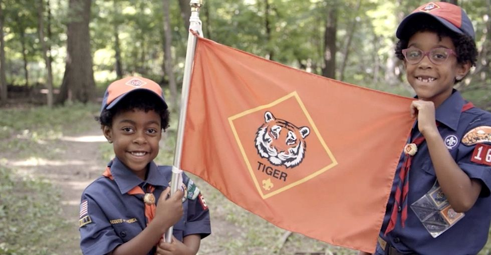 The awesome reason you may already be seeing girls in Cub Scout uniforms.