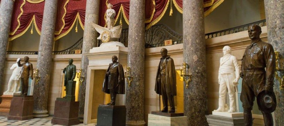 Arkansas' racist Capitol Hills statues are being replaced by two incredible icons.