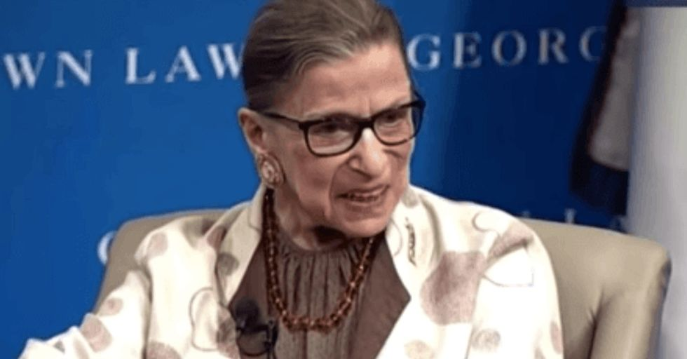 An 81-year-old Supreme Court justice just gave the most badass answer to a ridiculous question.