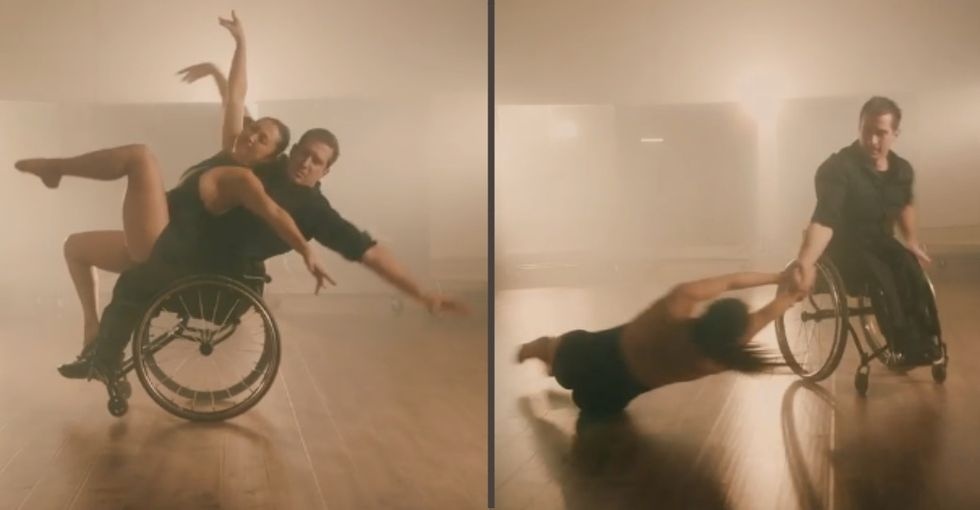 This inclusive dance company is breaking down disability barriers in stunning ways.
