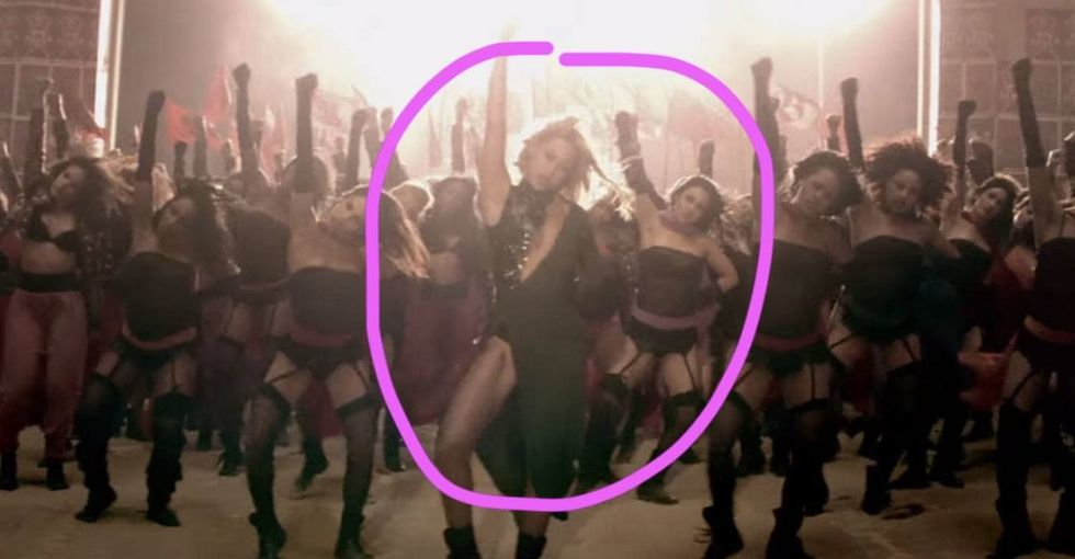 Beyoncé's epic girl power anthem kinda sorta ignores the obvious.