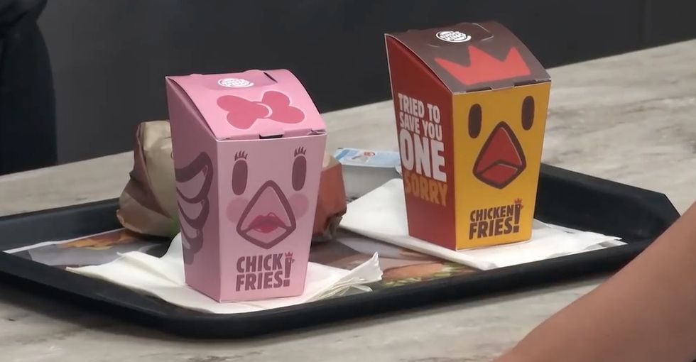 If you don't know what the 'pink tax' is, this Burger King ad is a great place to start.