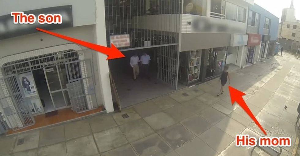 Watch These Guys Unknowingly Catcall Their Own Moms And Get An Embarrassing Lesson On Harassment