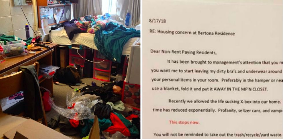 Overwhelmed mom posts letter to teenage boys asking for help. Every parent should read it.