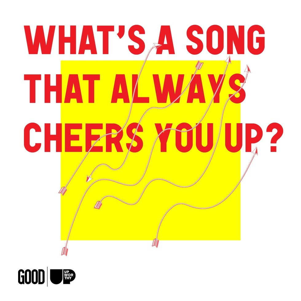 We asked Facebook 'What song cheers you up?' and created a playlist that's pure bliss.