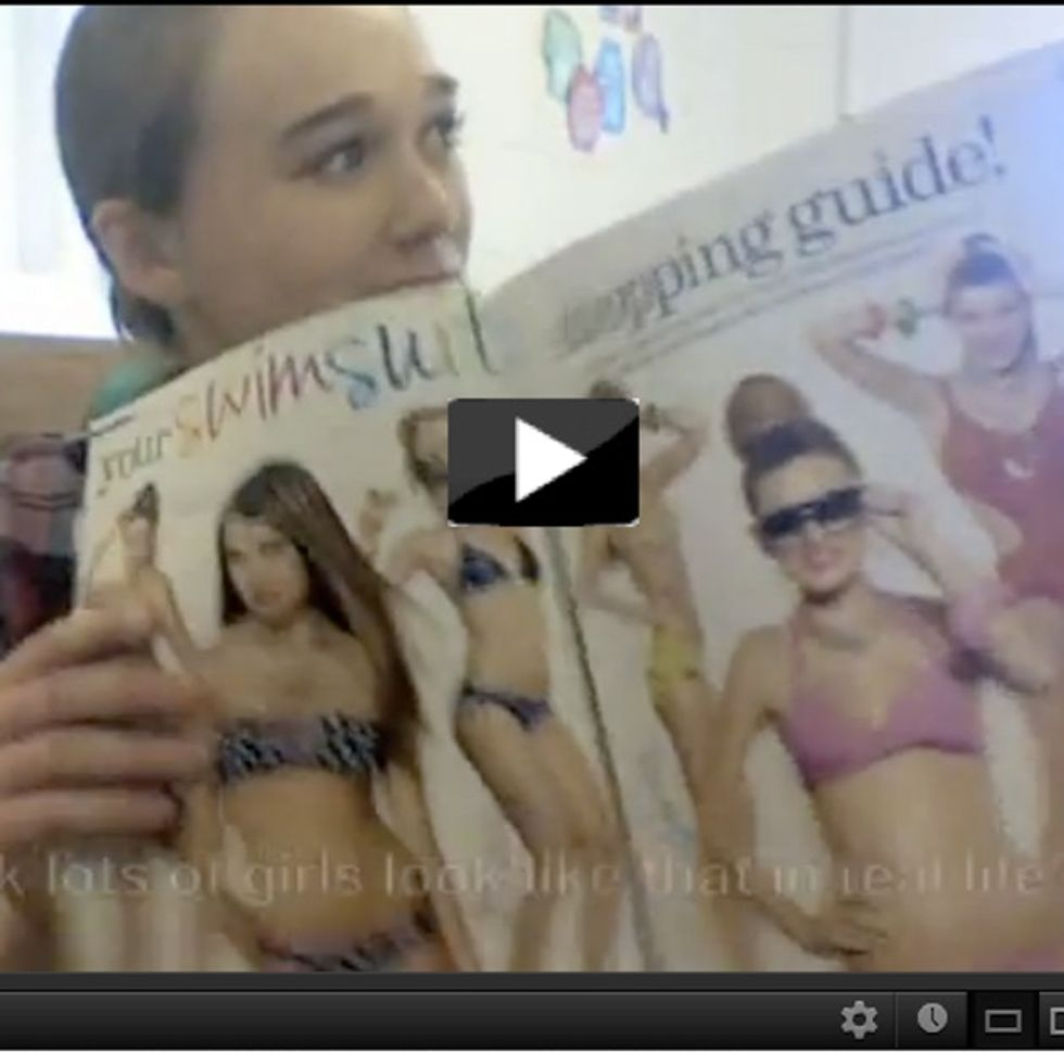 How A 14-Year-Old Girl Snapped One Fashion Mag Back Into Reality