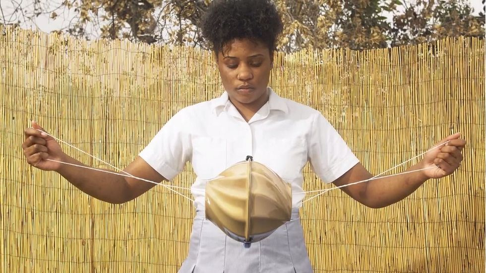 This device making menstruation safer for girls living in poverty.