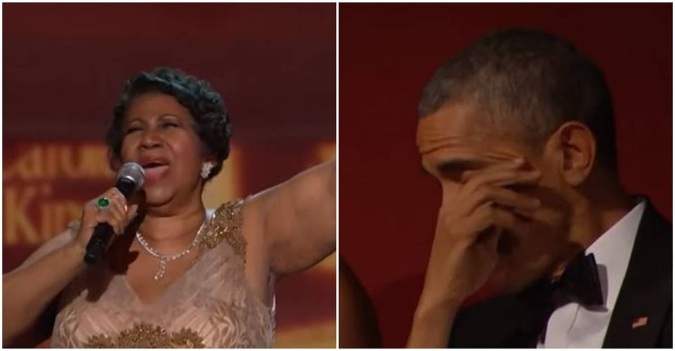 Read the incredibly touching letter Barack Obama wrote for Aretha Franklin.